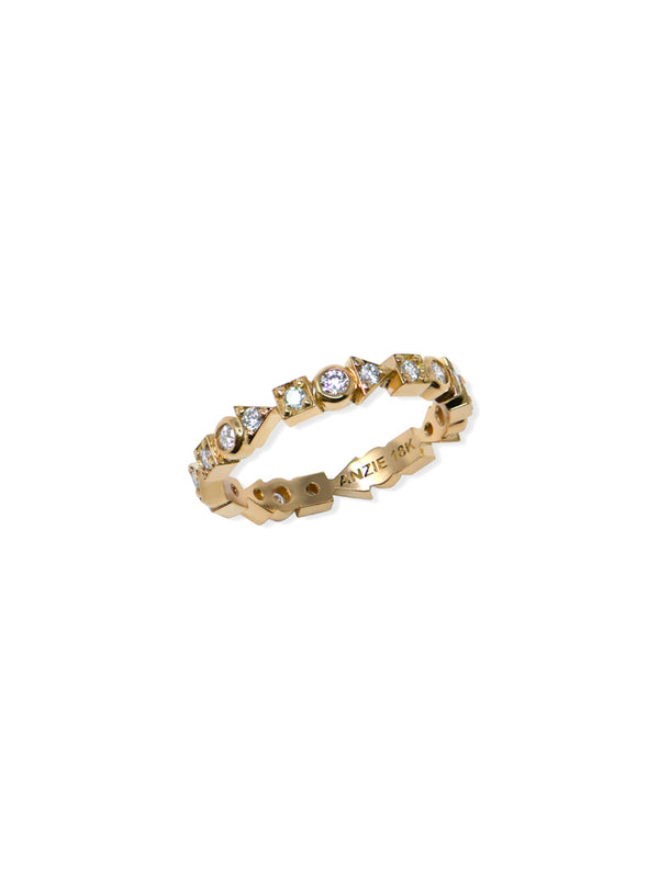 Cléo Geometric Eternity Ring