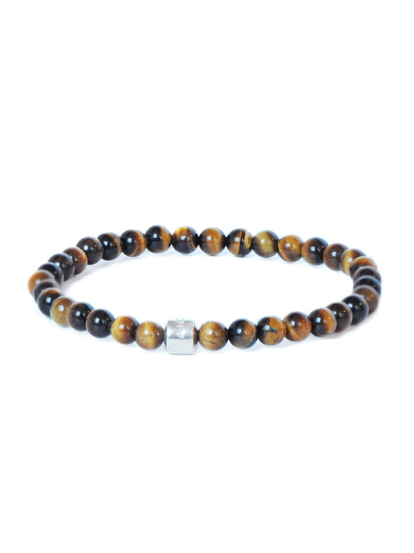 Men's Boheme Anzie Closure Tiger's Eye Bracelet
