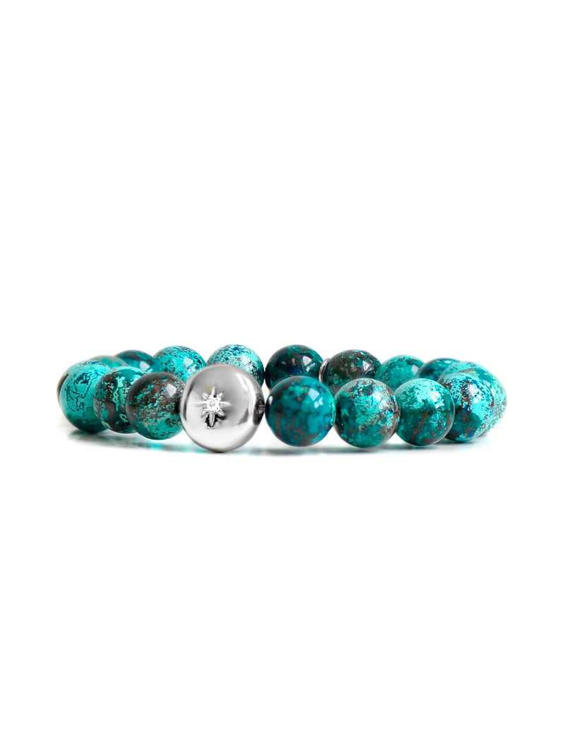 Bohème Light Chrysocolla Bracelet