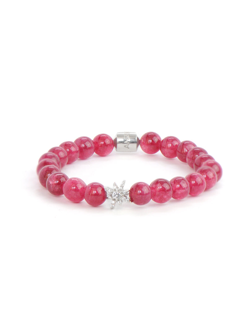 Bohème Strawberry Agate Bracelet