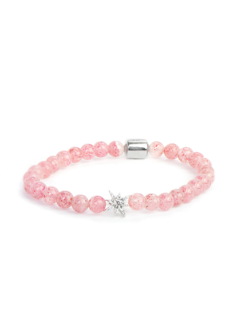 Bohème Strawberry Crystal Bracelet