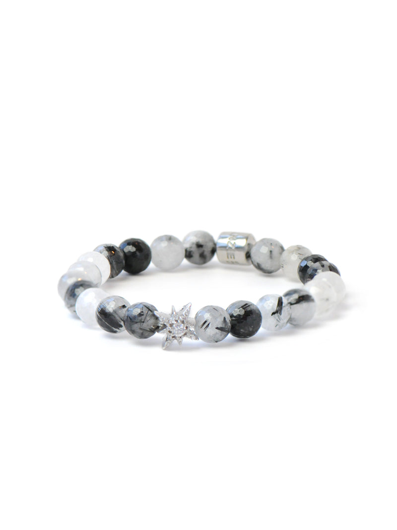 Boheme Starburst Tourmalinated Quartz Bracelet
