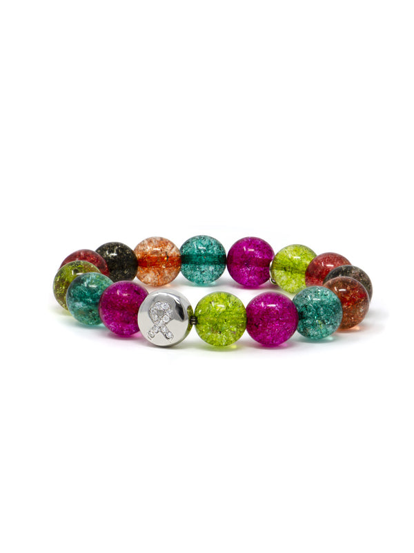 Bohème Watermelon Tourmaline Ribbon Lifesaver™ Bracelet