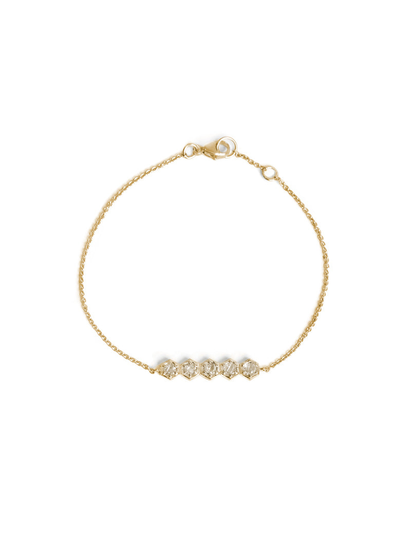 Jac+Jo Bolt Mini Bar Bracelet