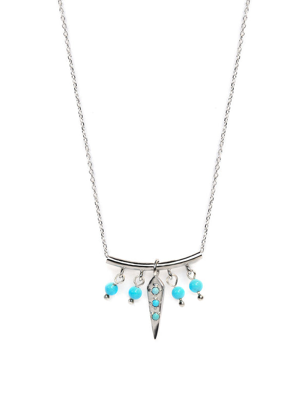 Jac + Jo Dagger Pointed Bar Necklace