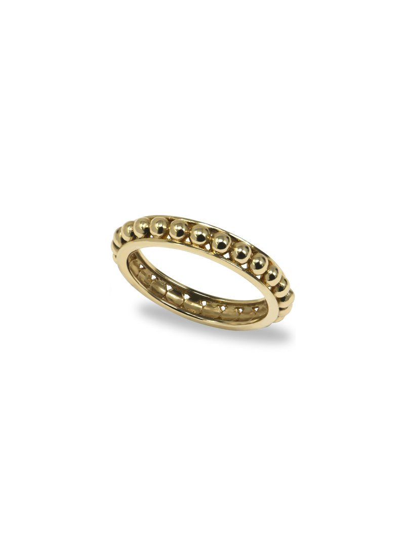 Jac+Jo Strata Dotted Band Ring