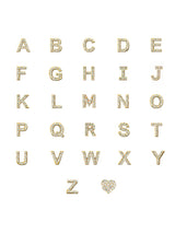 Customizable Love Letter Pavé Necklace A to Z