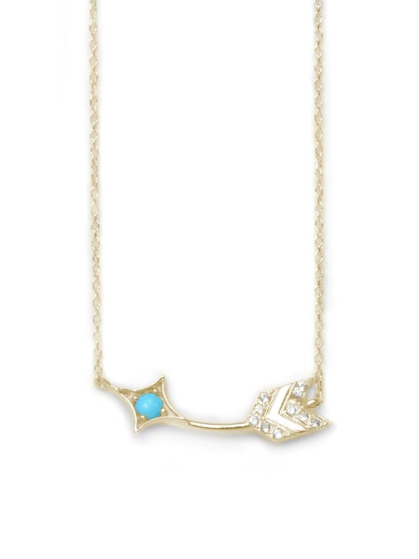 Jac+Jo Arrow Bar Necklace