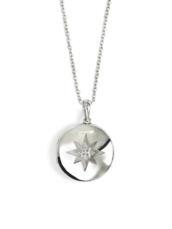 Jac+Jo Icon Starburst Locket