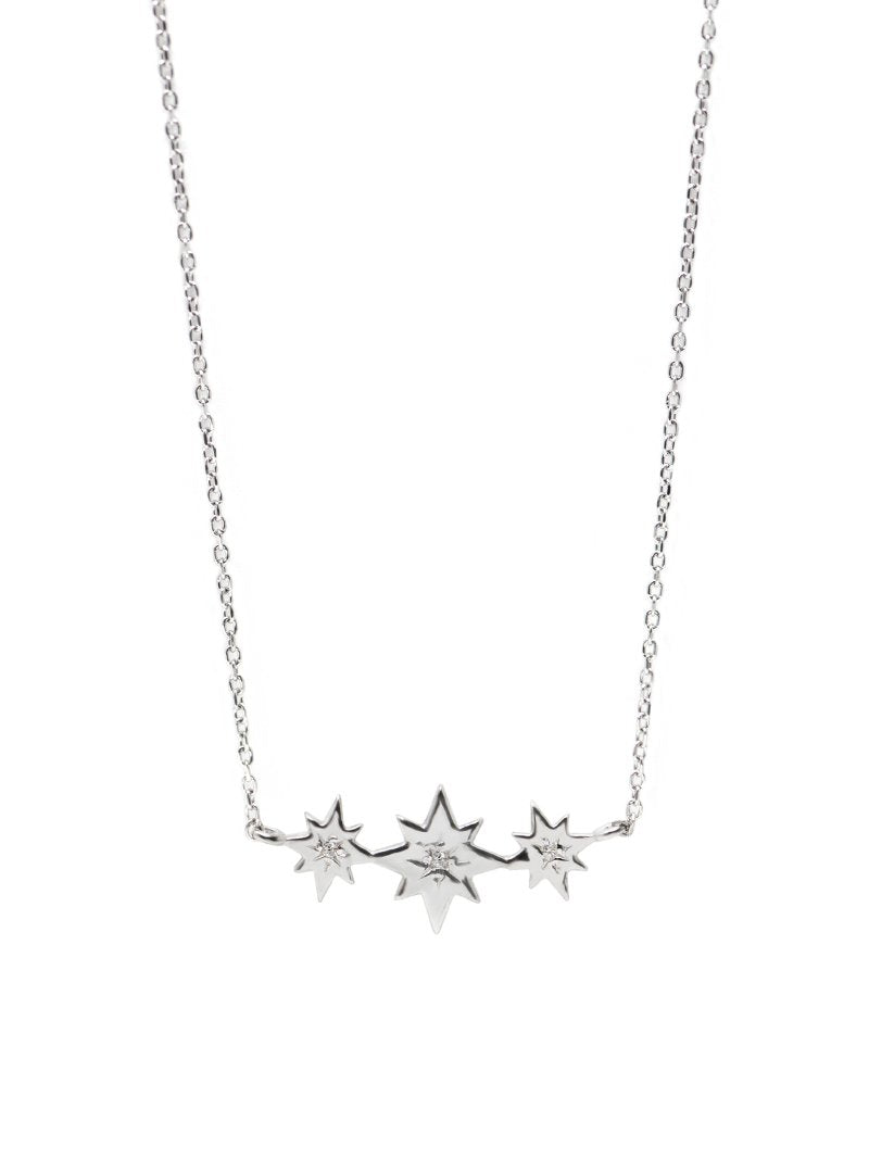 Jac+Jo Icon Triple Starburst Necklace