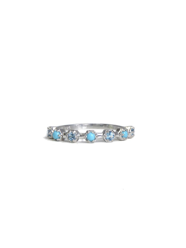 Jac+Jo Bolt Micro Half Eternity Ring