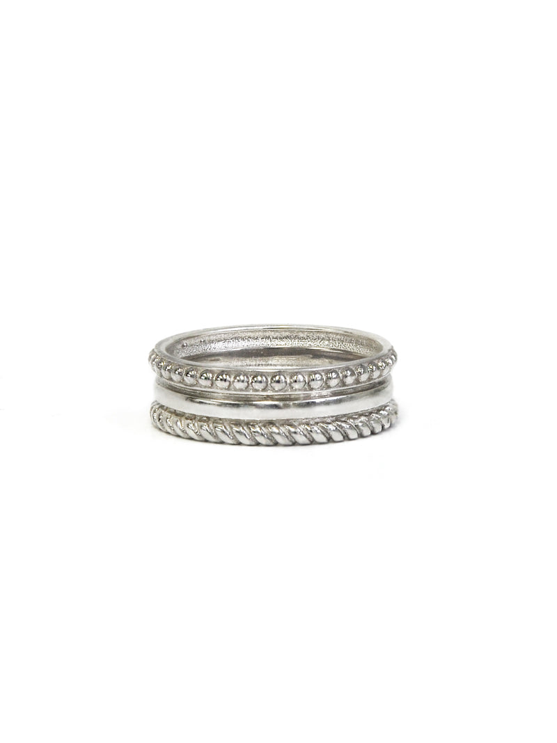 Jac + Jo Strata Stacked Band Ring