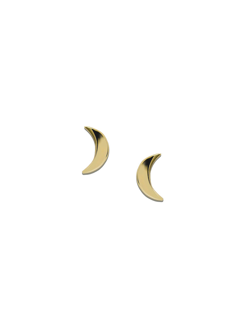 Jac+Jo Icon Moon Studs