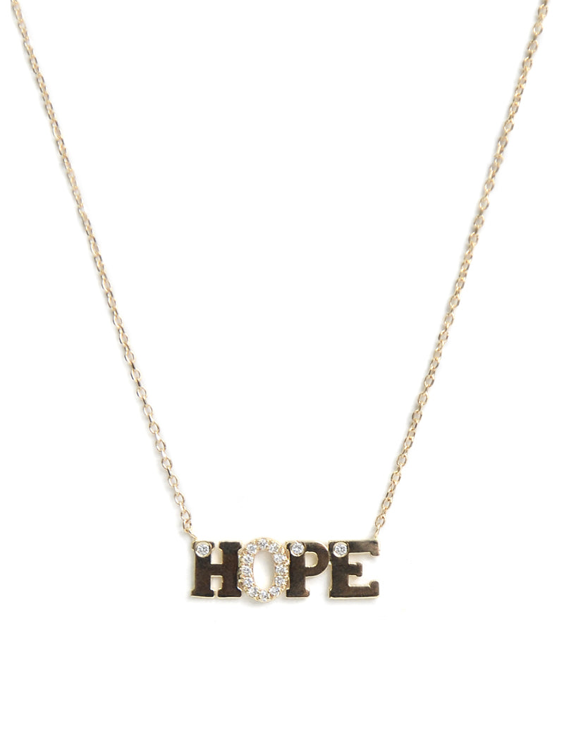 Customizable Love Letter HOPE necklace