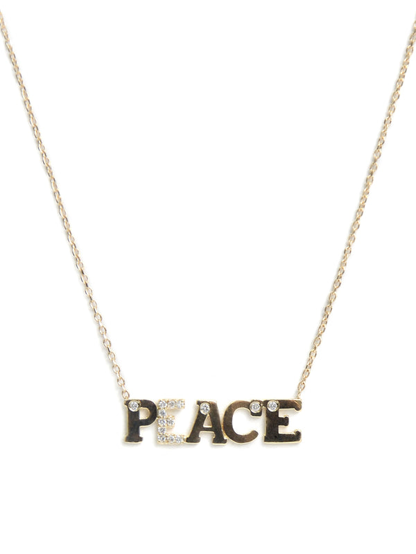 Love Letter PEACE Necklace