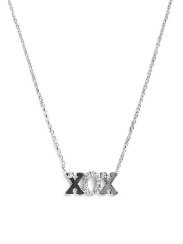 Customizable Love Letter XOX Necklace
