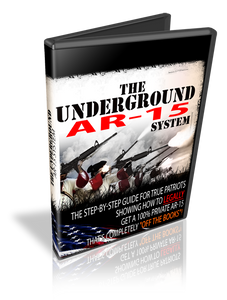 "The ""Underground"" AR-15 DVD"