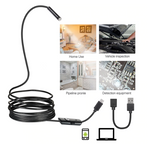 USB Endoscope 480P HD Snake  Micro Camera for PC Smart Phone