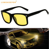 Night Driving Glasses Goggles Anti-Glare Polarizer Eyewears