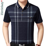short sleeve polo shirt men