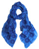 Royal Blue Silk Scarf