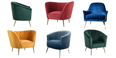 7 of the Best Gem Coloured Armchairs
