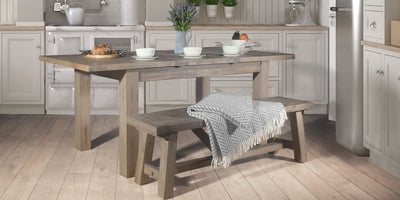 Ooze rustic style with these reclaimed tables