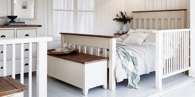 Rustic styling tips for small bedrooms
