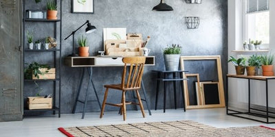 How to create the perfect industrial home office