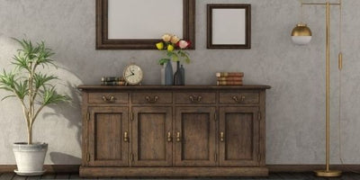 Why every home needs a reclaimed wood sideboard