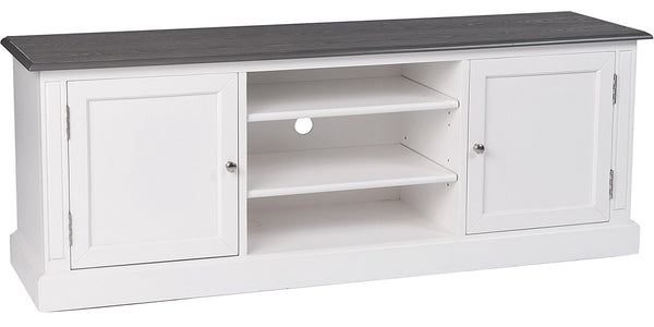Victoria White Painted TV Unit