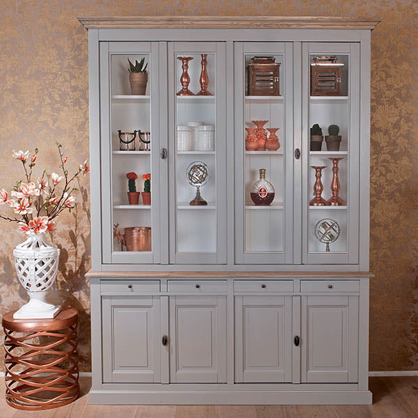 Kingbridge Large Glass Display Cabinet
