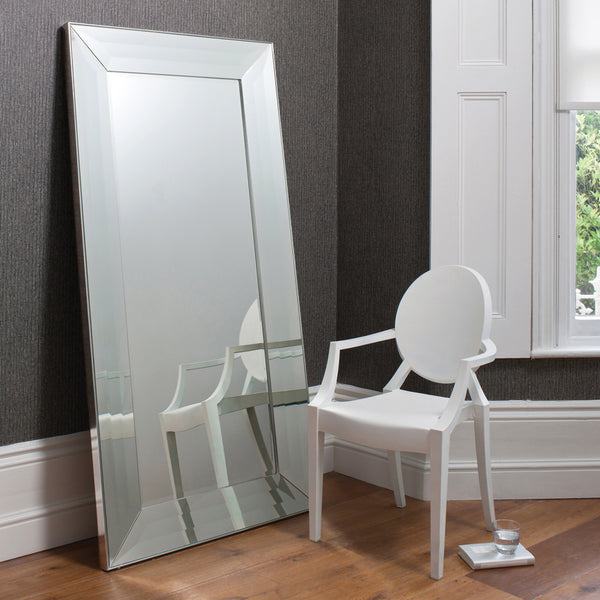 Large Floor Mirror.  Home Interiors.  Wall Mirror