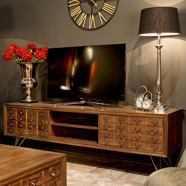 Barclay Reclaimed Wood TV Cabinet