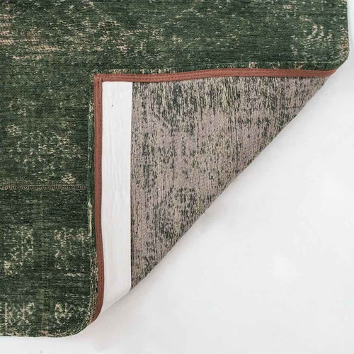 corner of Louis De Poortere Fading World Rug - Bubble Green