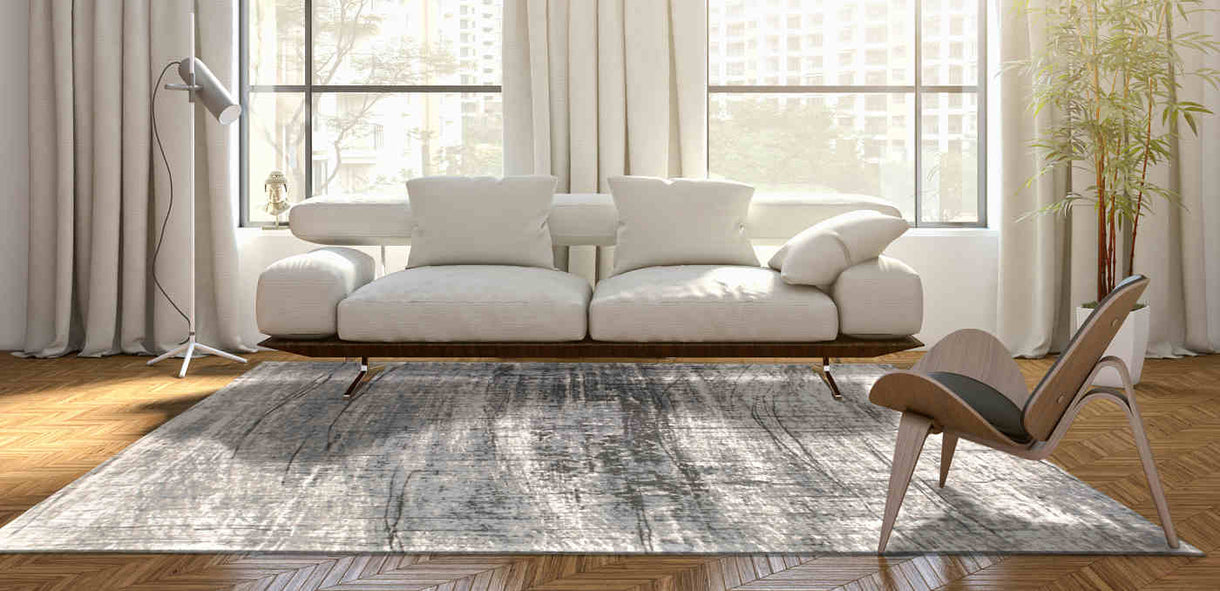 Louis De Poortere Rug Mad Men Jersey Stone