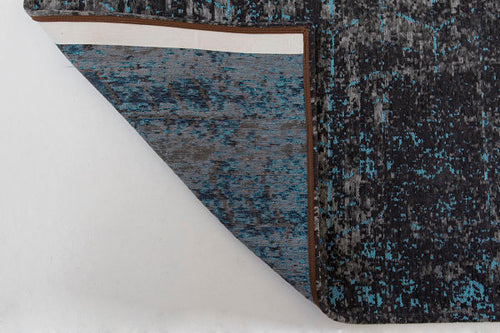 CONRER OF Louis De Poortere Rug - Mad Men - Brooklyn Blue