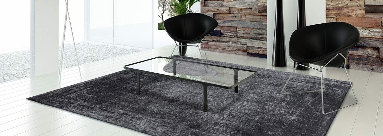 Mad Men Louis de Poortere Dark Black Rug