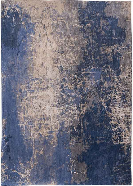 Louis de Poortere Mad Men Cracks Blue Rug