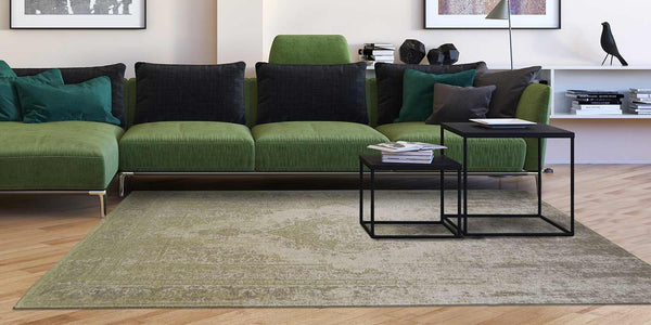 Bring The Summer Into Your Living Room With Green Rugs ...