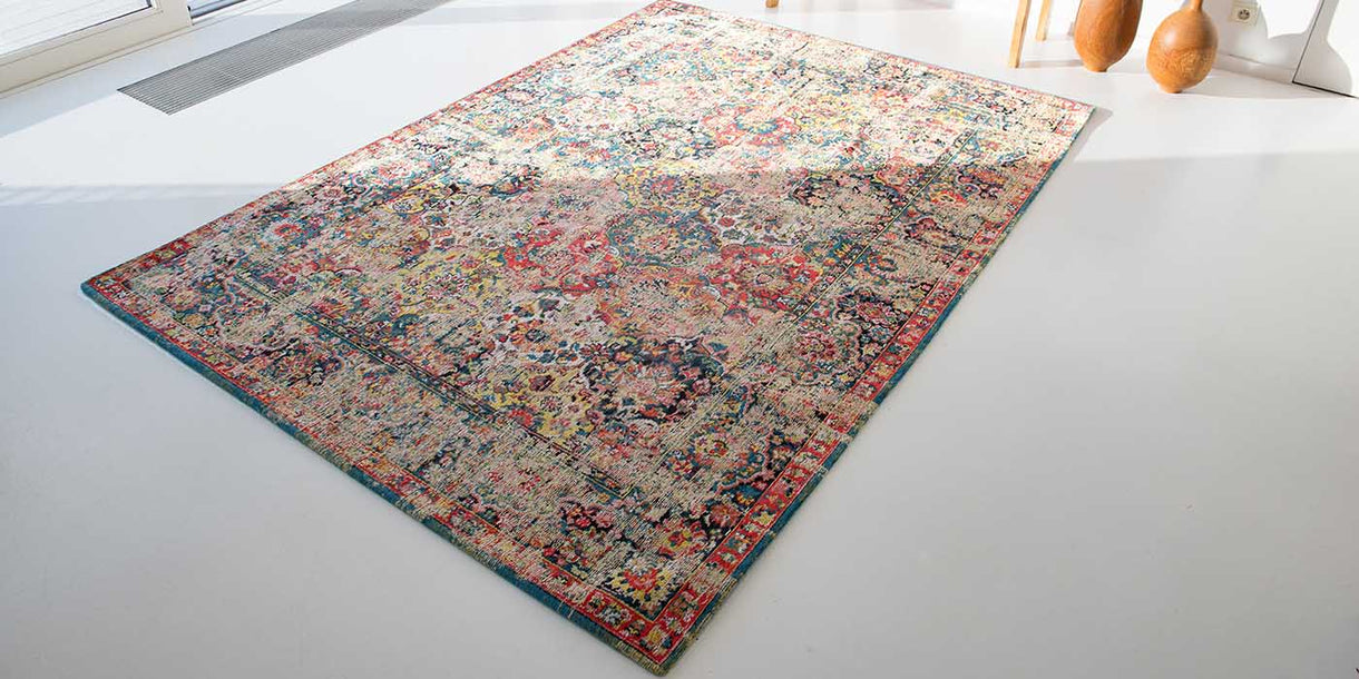 Louis de Poortere Antiquarian Janissary Multi Rug in Room