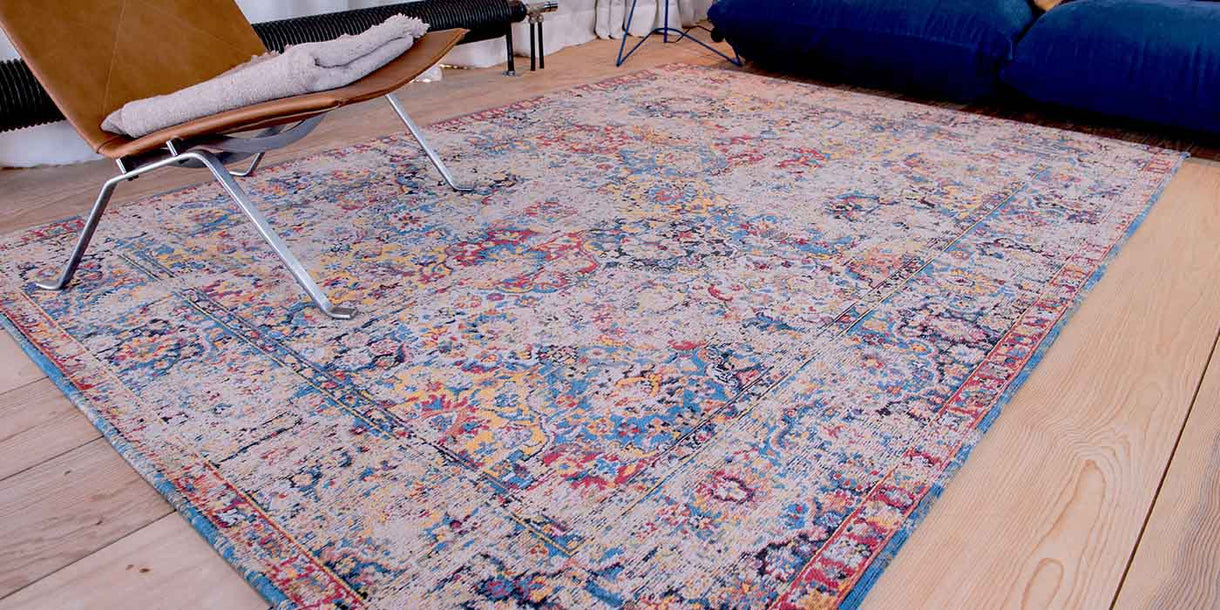Louis de Poortere Antiquarian Khedive Multi Rug in Room