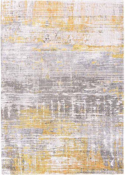 Louis de Poortere Grey and Yellow Rug