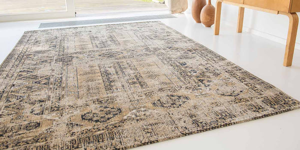 Louis de Poortere Antiquarian Agha Old Gold Rug