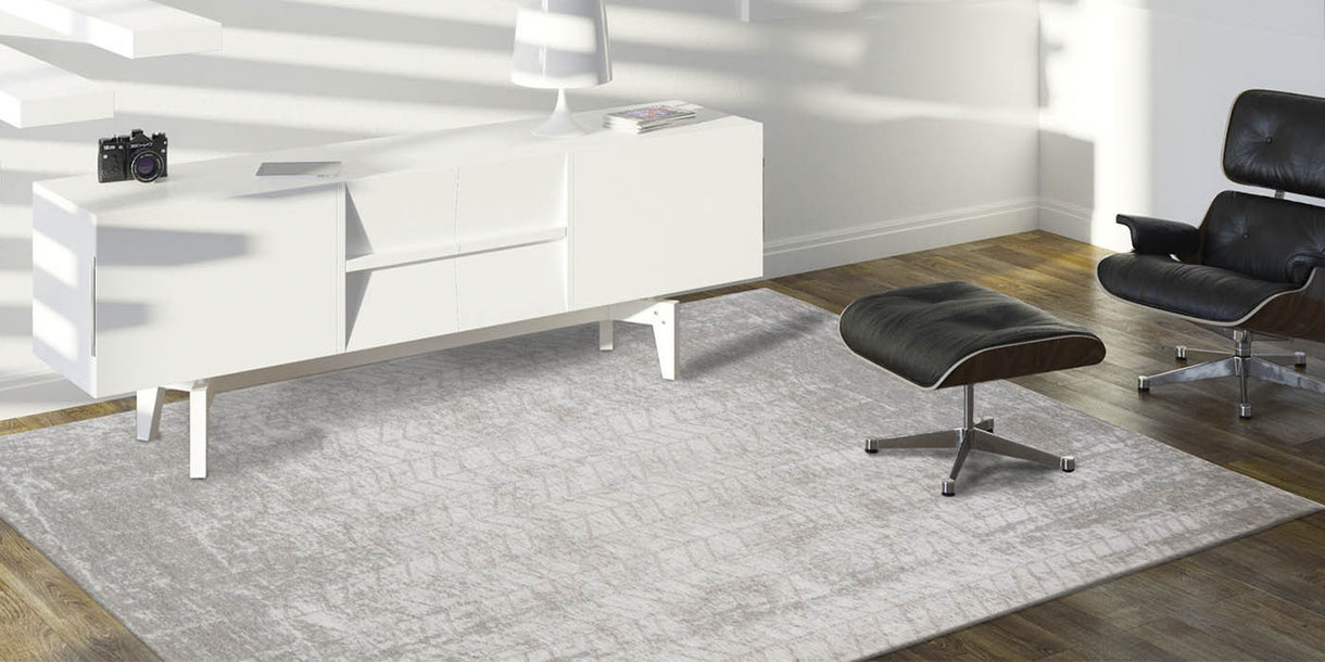 Louis de Poortere Mad Men White Plains Interior Rug