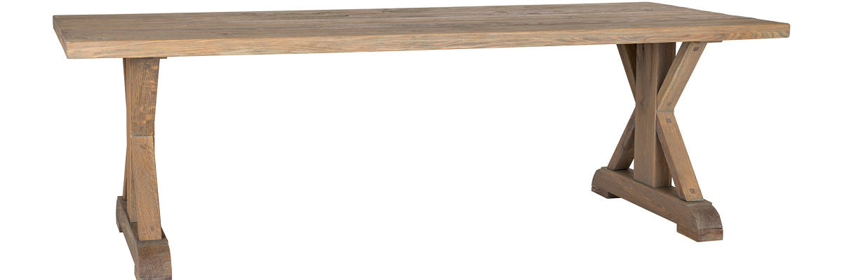 Hoxton Rustic Oak Dining Table