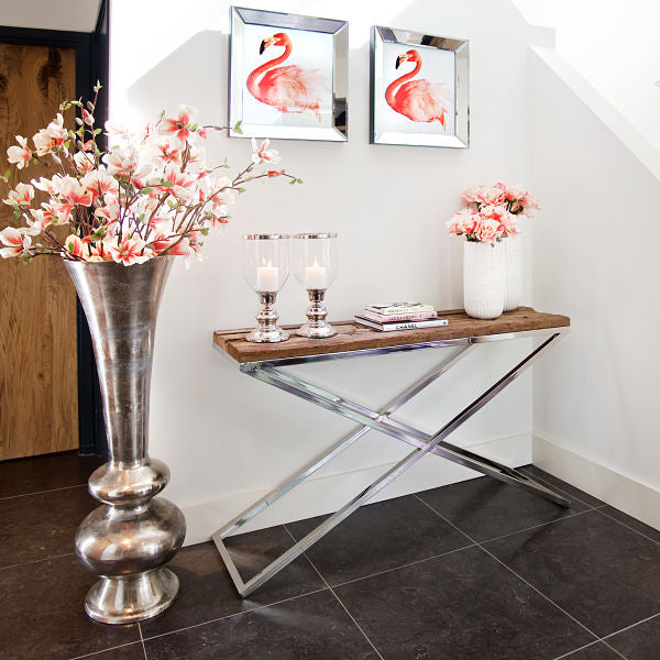 Luxe Kensington Reclaimed Wood Console Table