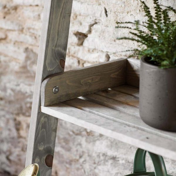 Aldsworth Small Wooden Shelf Ladder
