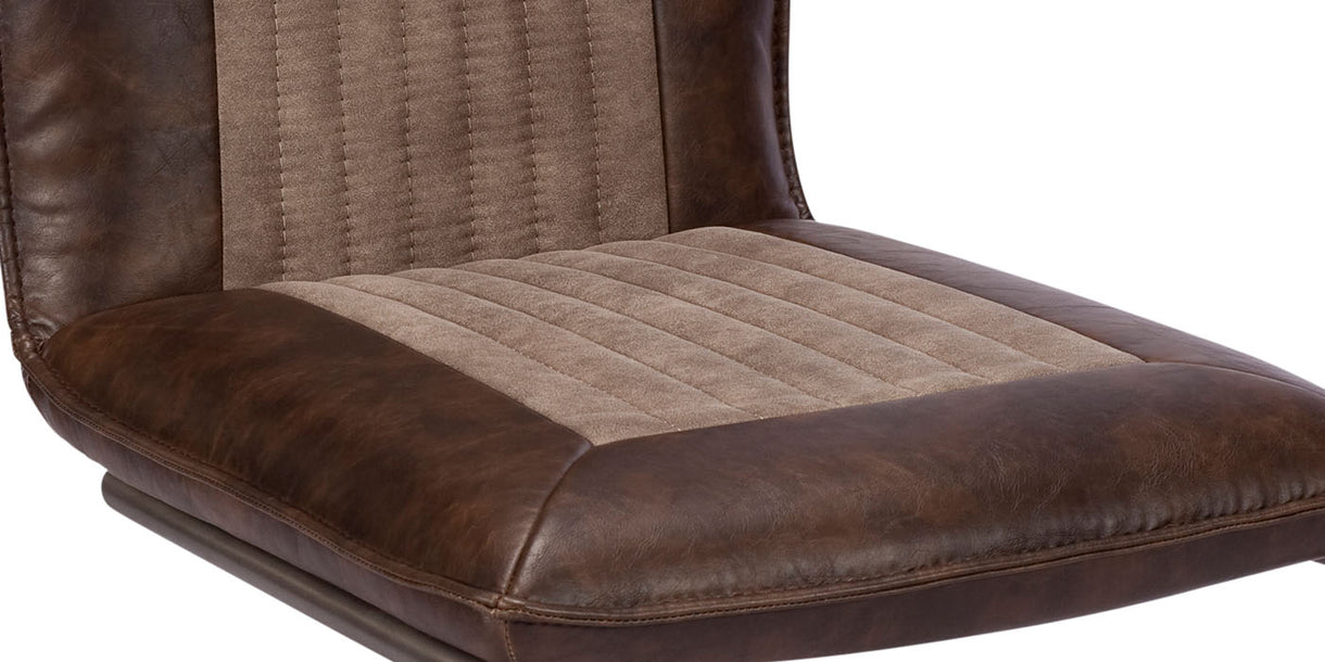 Adler PU Leather Dining Chair
