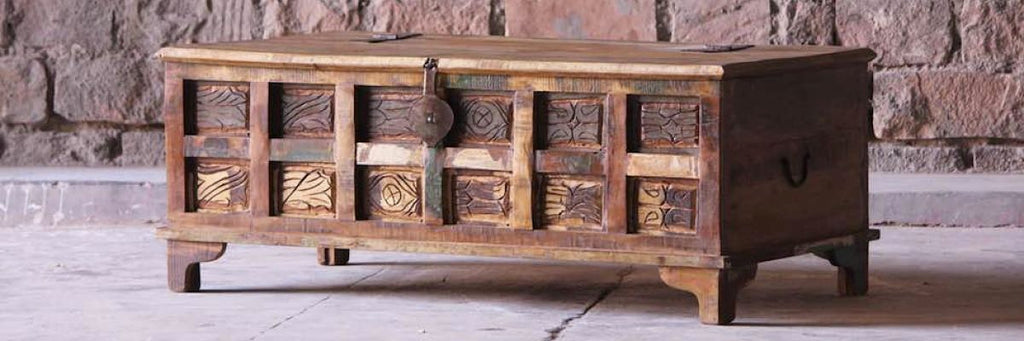 Aimee Reclaimed Wood Furniture Range